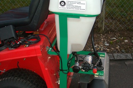 FS-Eisexx-Solesprühgerät – Rasenmäher